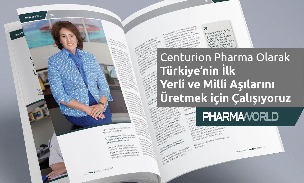Türkiye'nin İlk Yerli ve Milli Aşılarını Üretmek için Çalışıyoruz