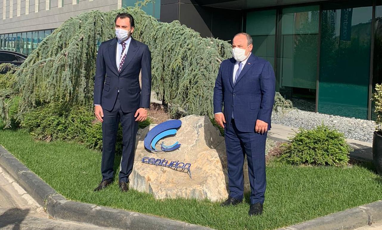 T.C. Sanayi ve Teknoloji Bakanımız Sn. Mustafa VARANK fabrikamızı ziyaret etti